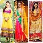 Indian Mehandi Function Dress