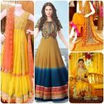 latest bridal mehndi dresses 14 styloplanet .com