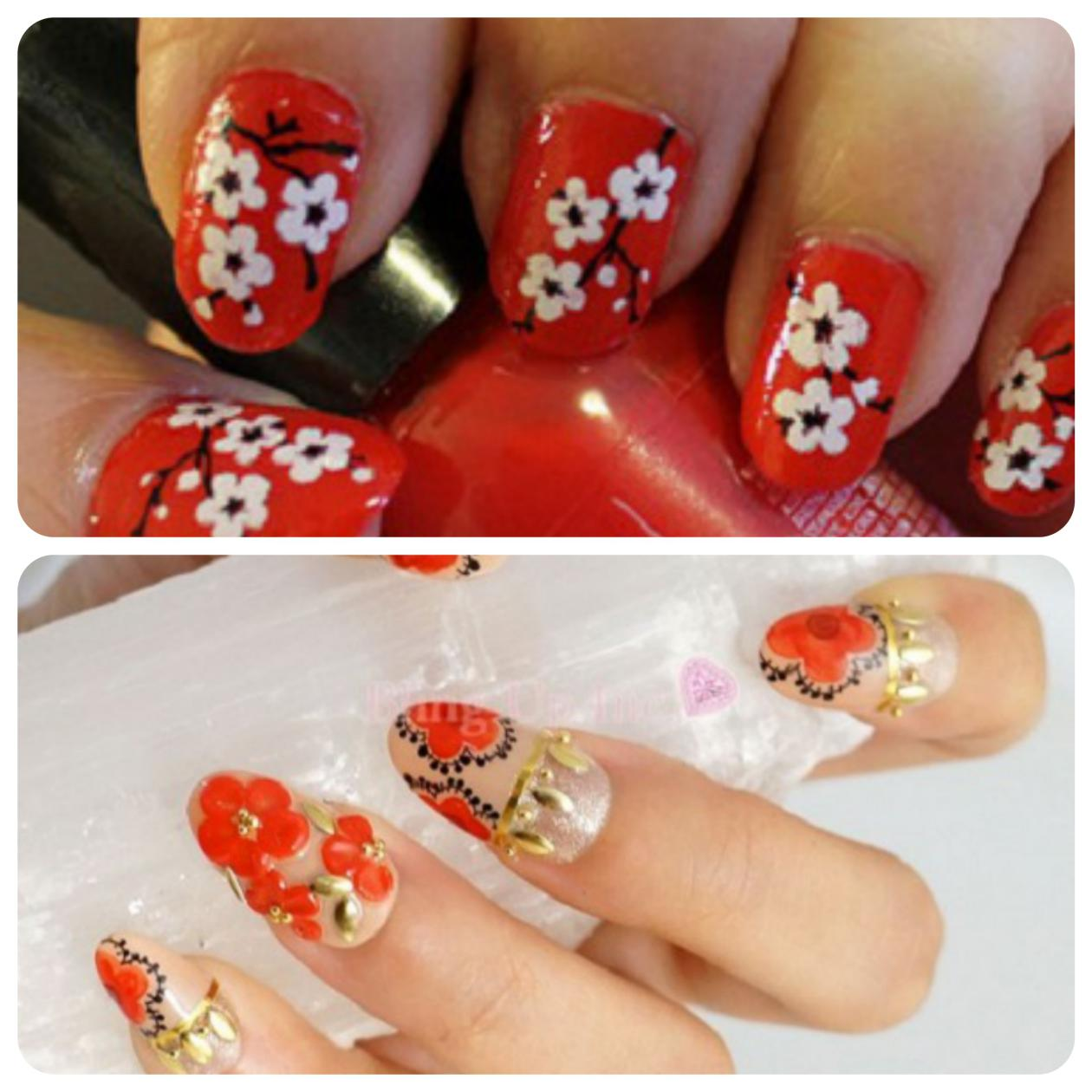 Red_nandmade_nail_art