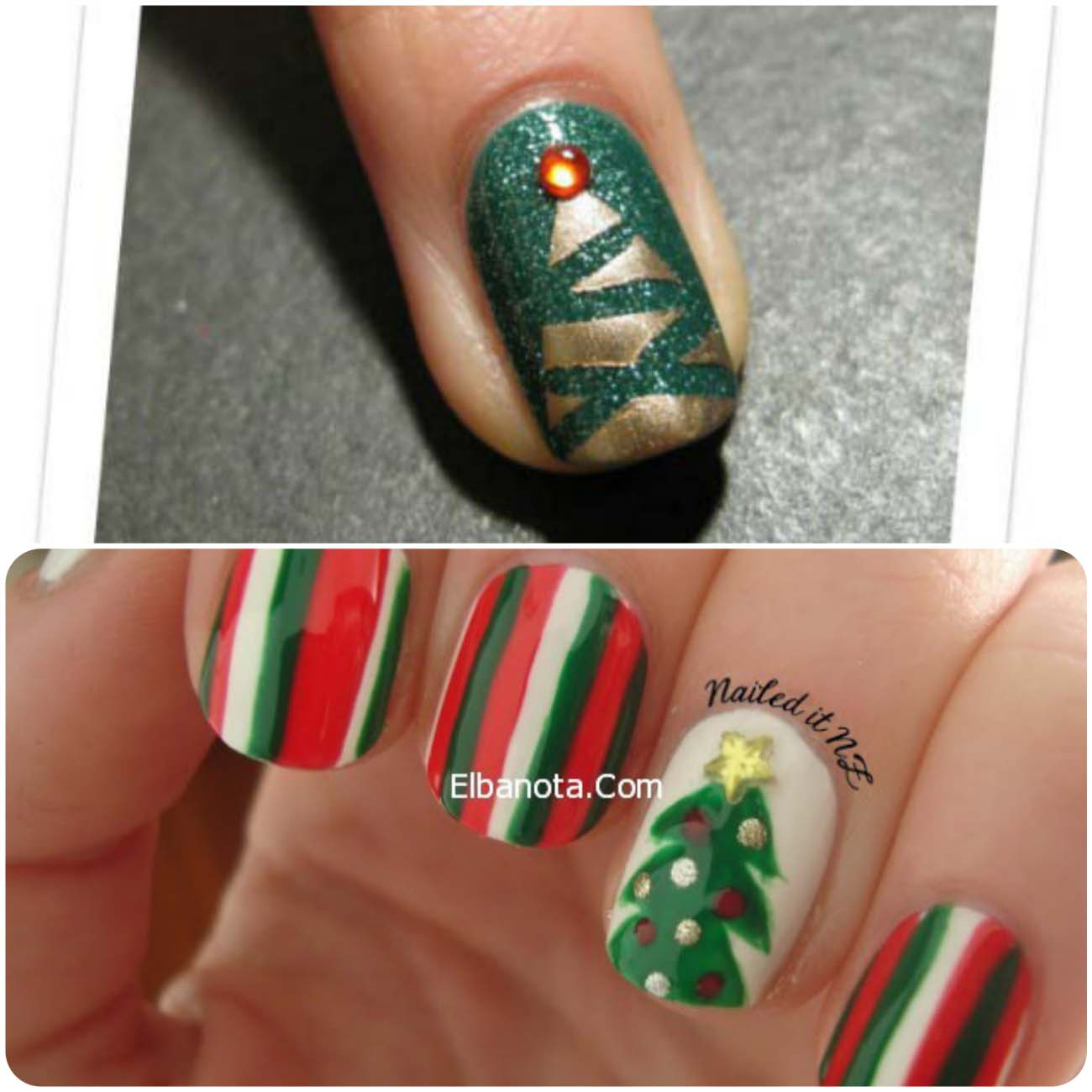Abstract-Christmas-Tree-Nail-Art-2015-8_Fotor_Collage