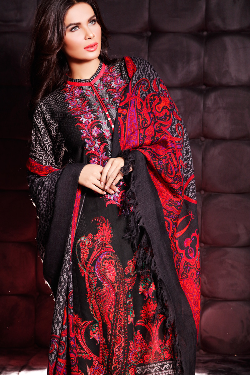 dress - Gul winter ahmed collection with prices video