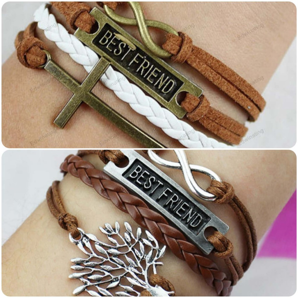 Best friend bracelet...styloplanet.com