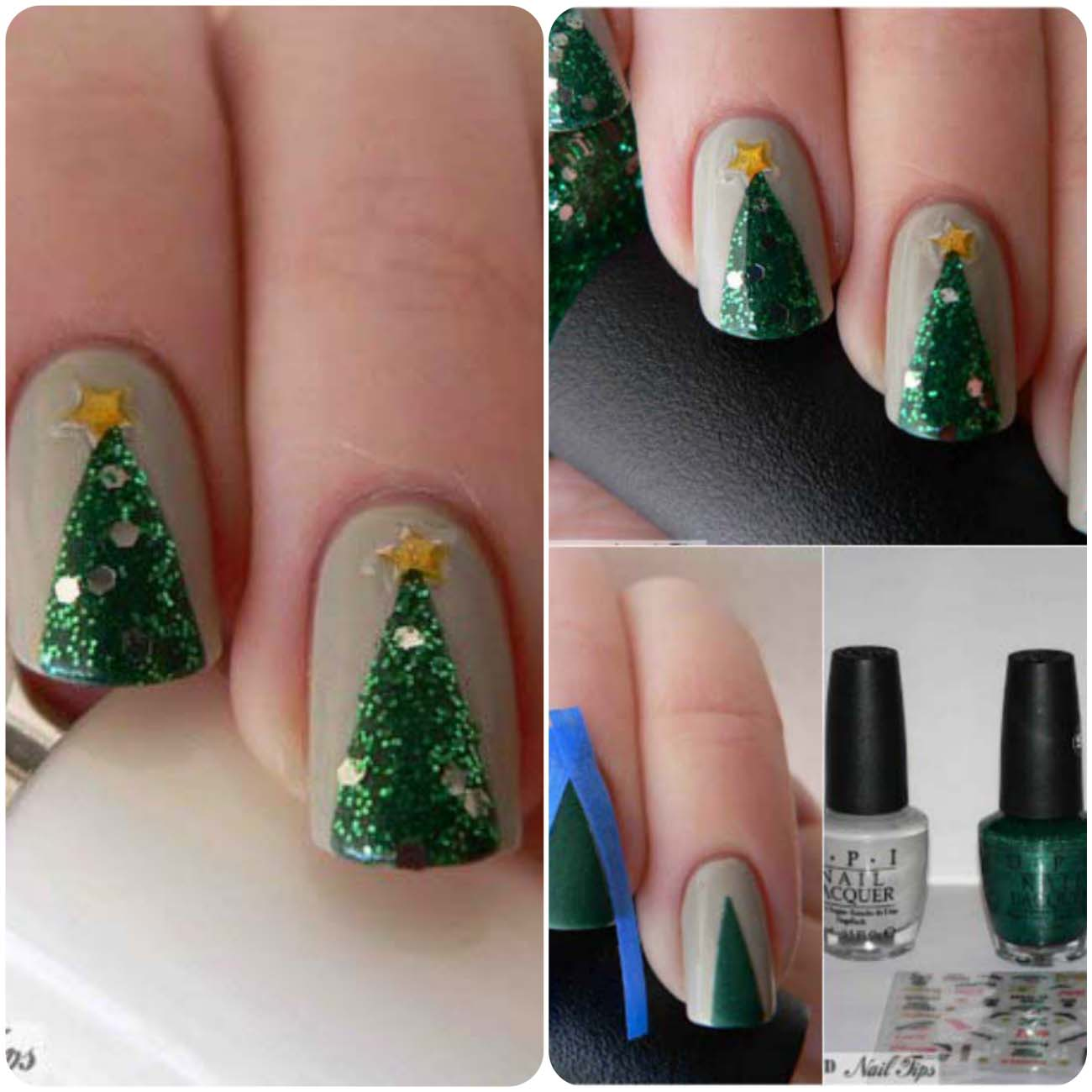 Charistmas Winter Nail art designs (17)_Fotor_Collage
