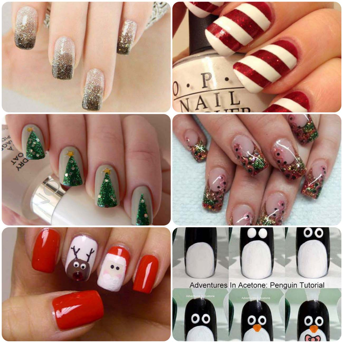 Nail Art Tutorial For Christmas | Stylo Planet