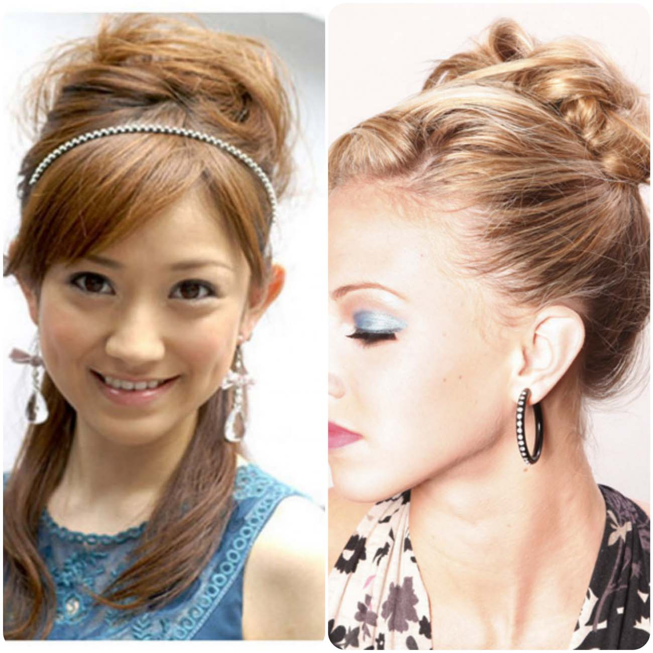 Updo Buns...styloplanet.com