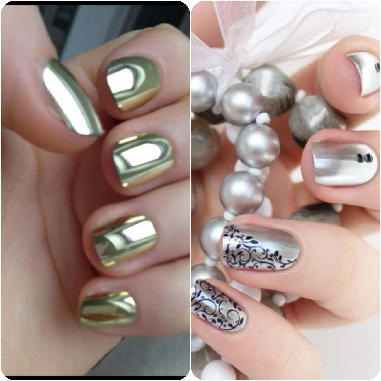 Best Dazzling Reflecting Nail Art Designs For Girls....styloplanet (13)