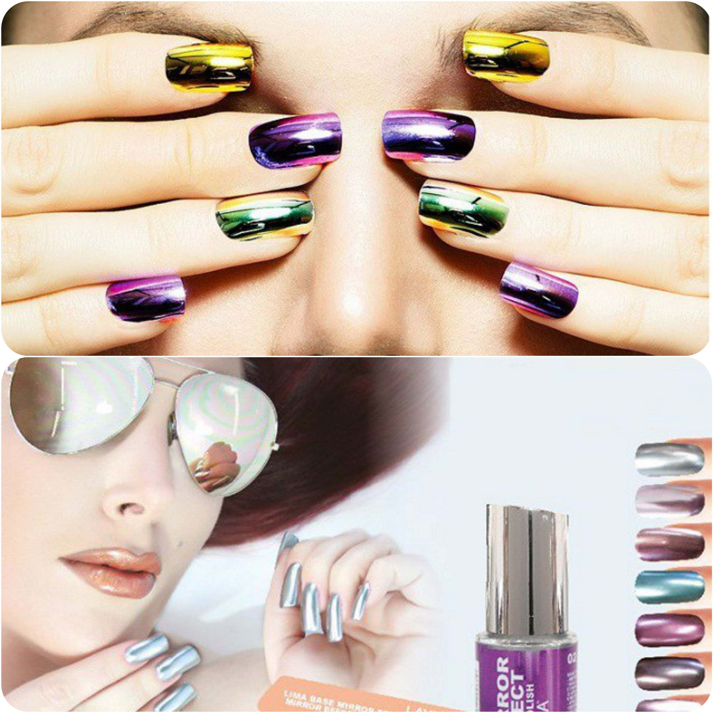 Best Dazzling Reflecting Nail Art Designs For Girls....styloplanet (14)