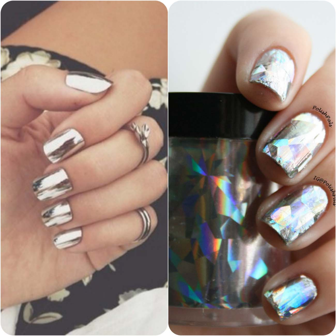Best Dazzling Reflecting Nail Art Designs For Girls....styloplanet (16)