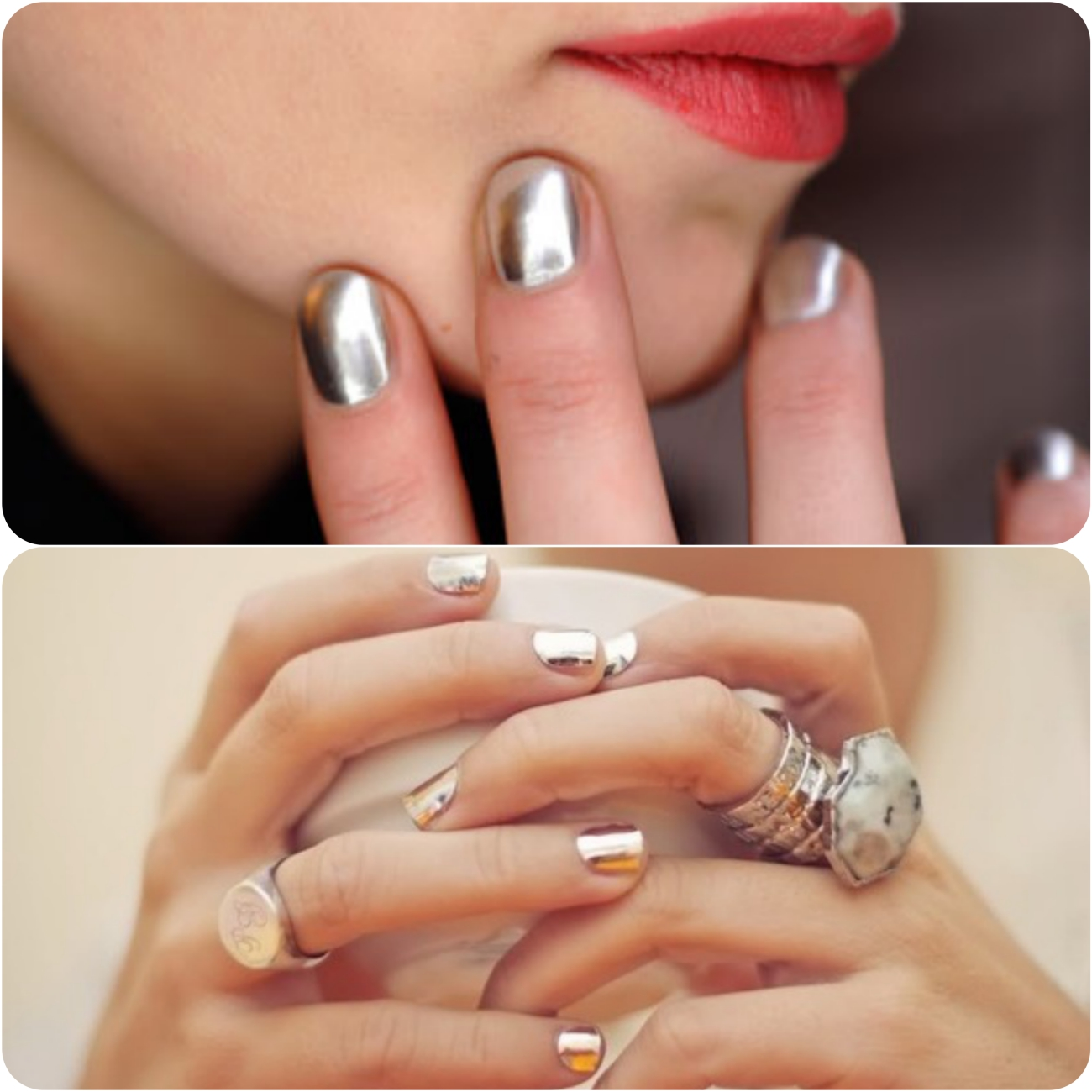 Best Dazzling Reflecting Nail Art Designs For Girls....styloplanet (3)