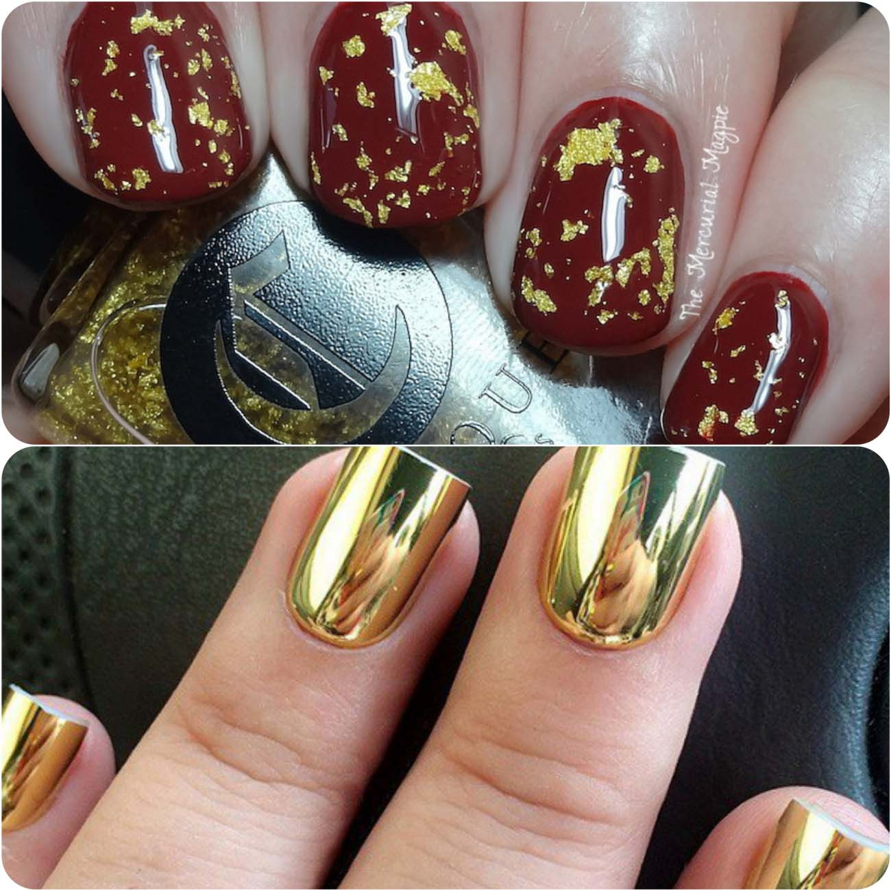 Best Dazzling Reflecting Nail Art Designs For Girls....styloplanet (5)