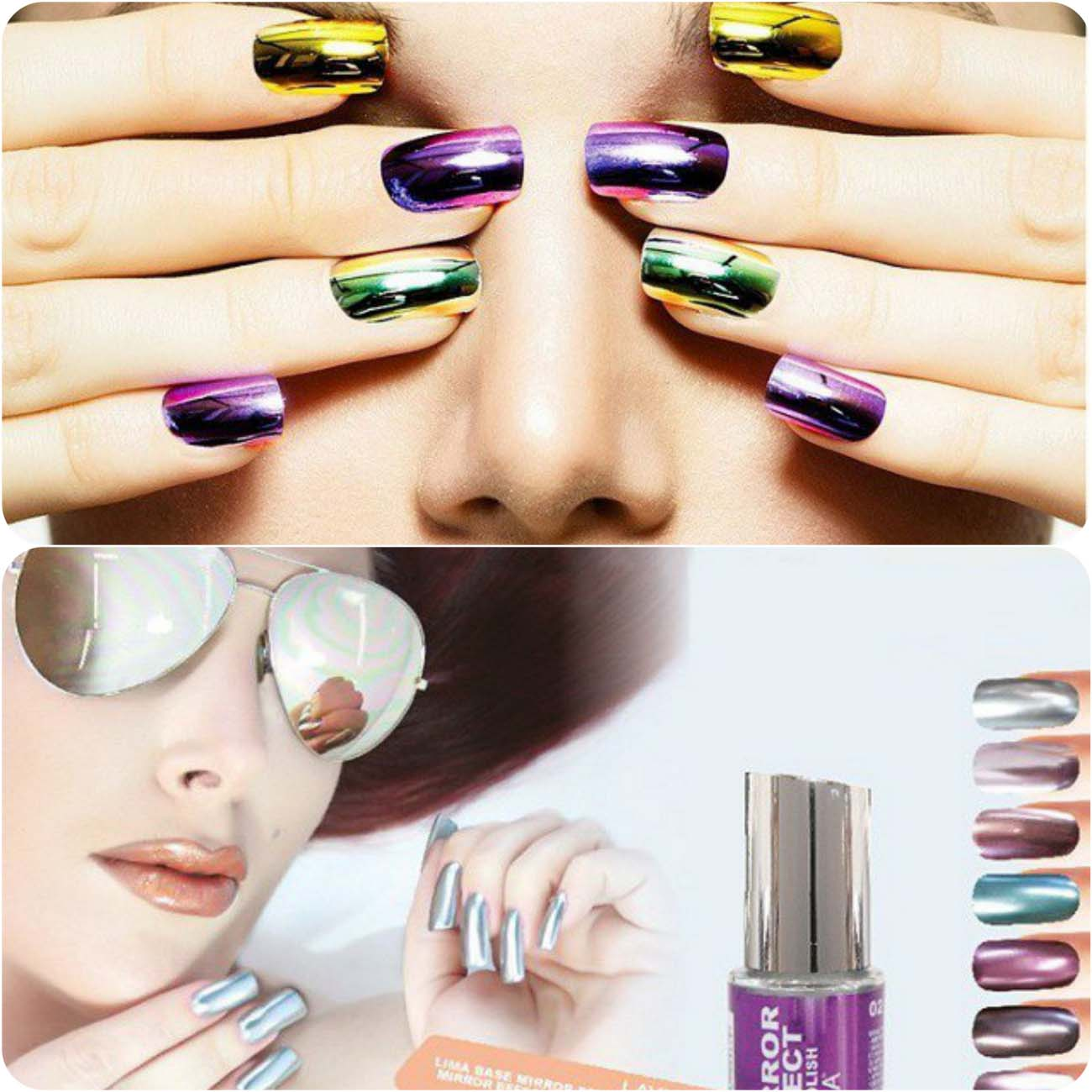 Best Dazzling Reflecting Nail Art Designs For Girls....styloplanet (6)