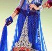 Latest jacket with flared lehnega choli dresses…. styloplanet (1)