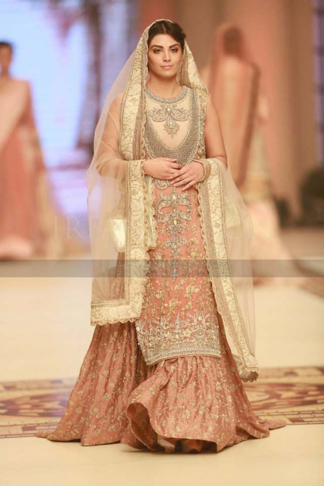 Pakistani bridal lehenga dresses designs collection 2016 2017