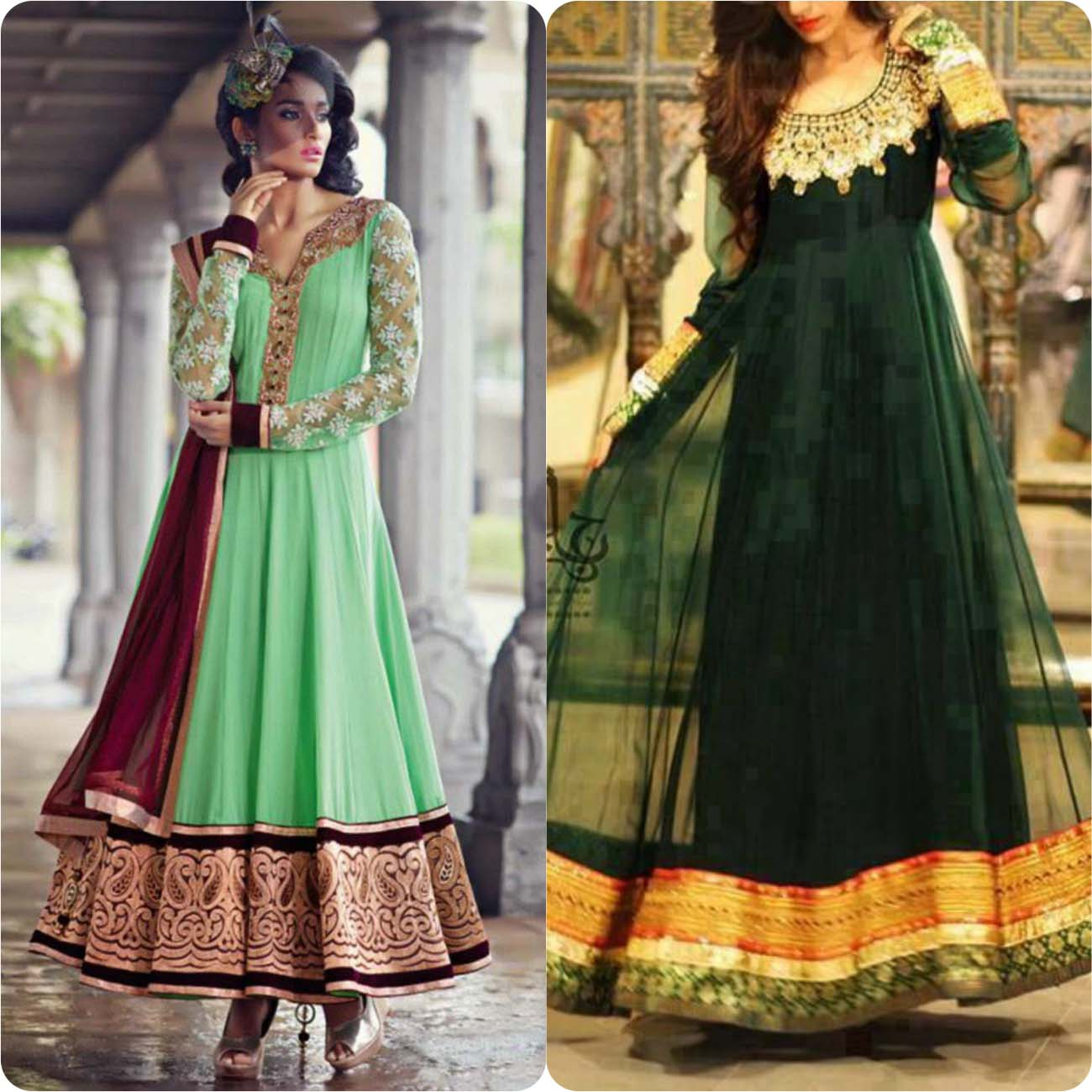 Umbrella Frocks Dress Designs and Styles Collection 2016-2017....styloplanet (3)
