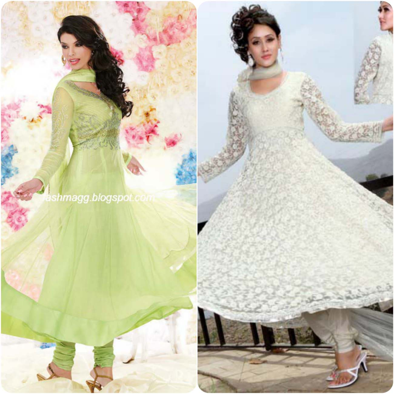 Umbrella Frocks Dress Designs and Styles Collection 2016-2017....styloplanet (8)