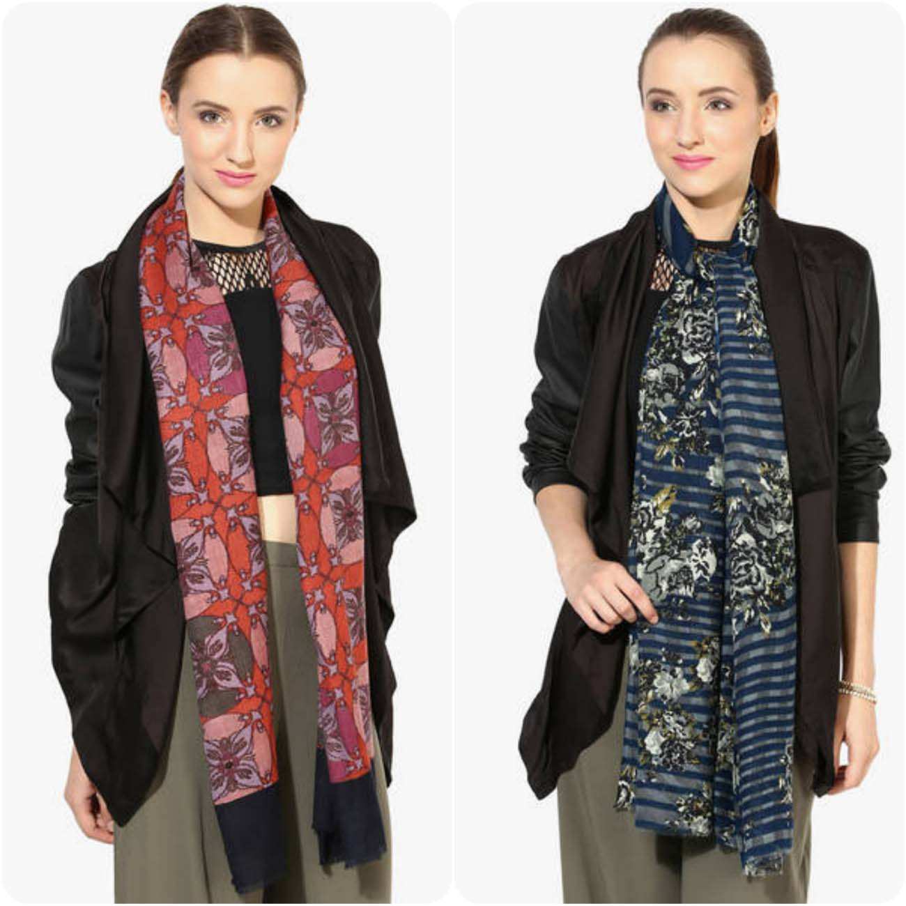 Arsenic and Shingora Winter Shawls & Stoles Collection For Women 2016-2017