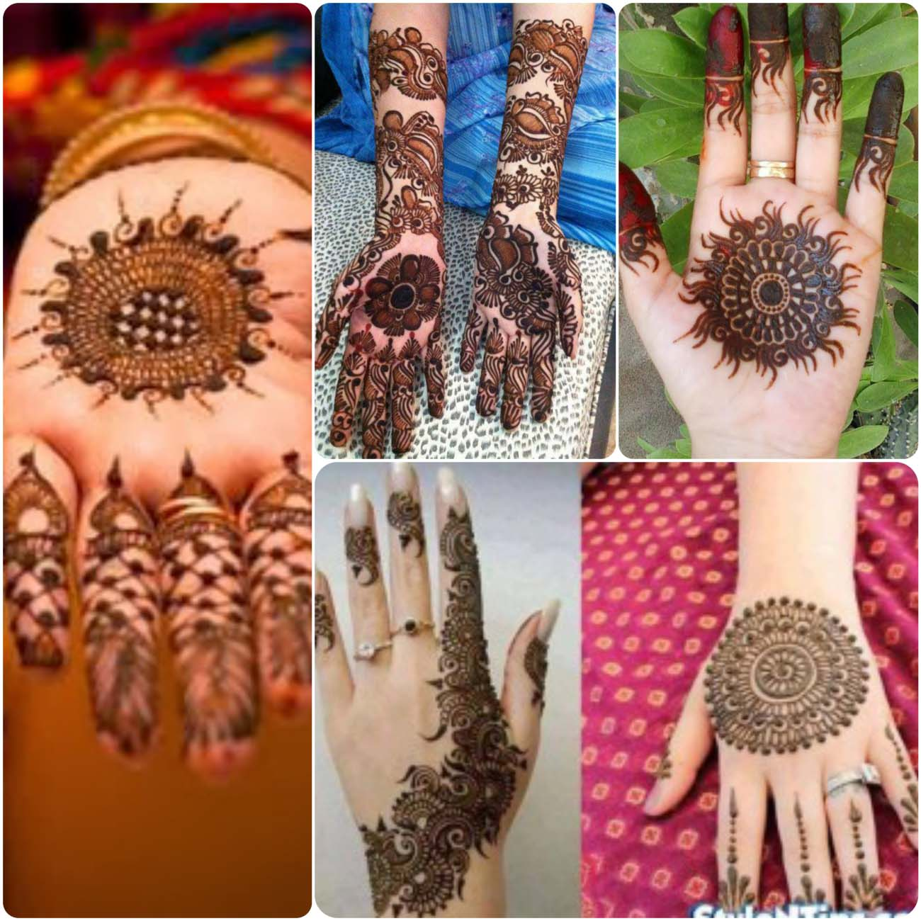 Mehndi design 2017 for teej -  Round Mehndi Designs Is Very Popular Design Right Now As Well As In Past Bridal Mehndi Designs For Full Hands Women Love Their Hands And Want Them To