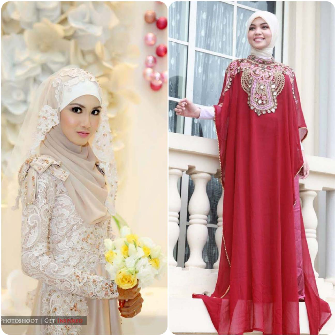 designer bridal hijab and abaya designs