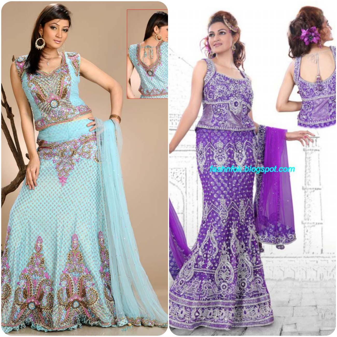 Embroidered Lehenga Choli Designs For Girls 2016-2017....styloplanet (11)