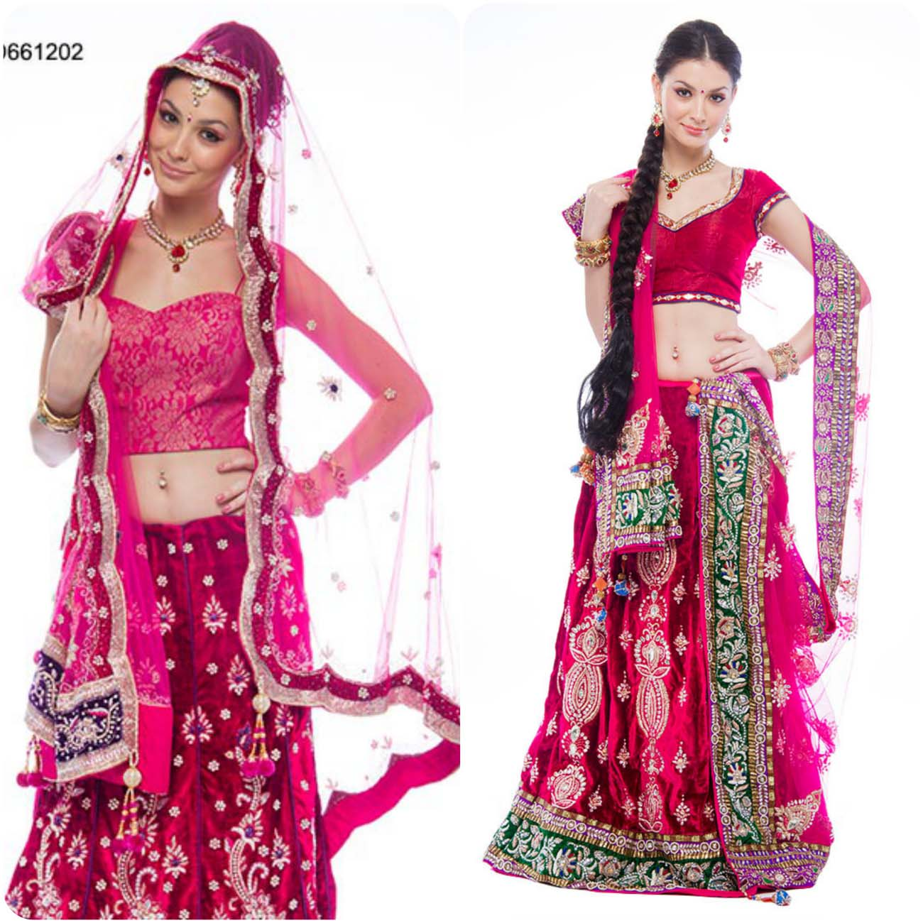 Embroidered Lehenga Choli Designs For Girls 2016-2017....styloplanet (19)