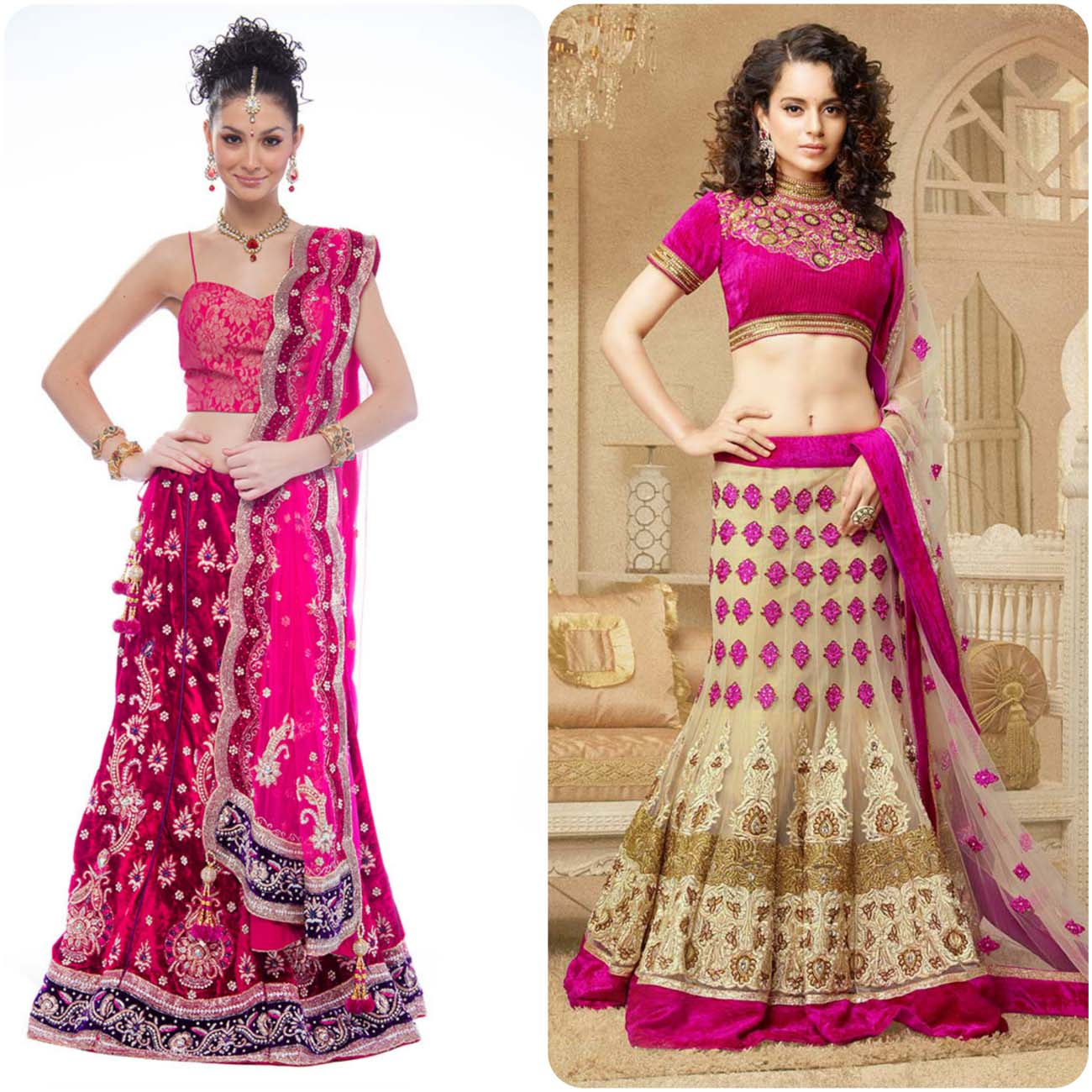 Embroidered Lehenga Choli Designs For Girls 2016-2017....styloplanet (22)