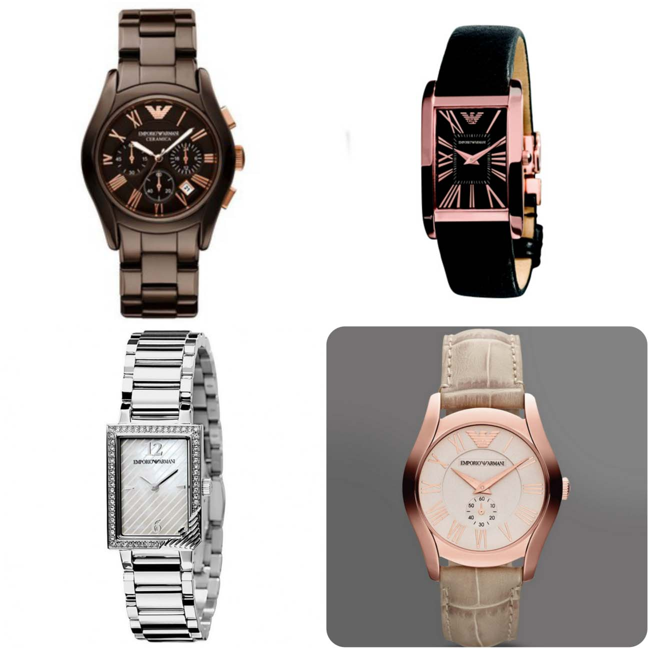 designer emporio armani women watches 2016