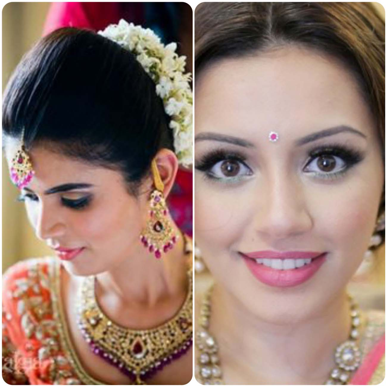 Wedding Hairstyles Indian: Indian Wedding Hairstyles For Brides 2017-2018