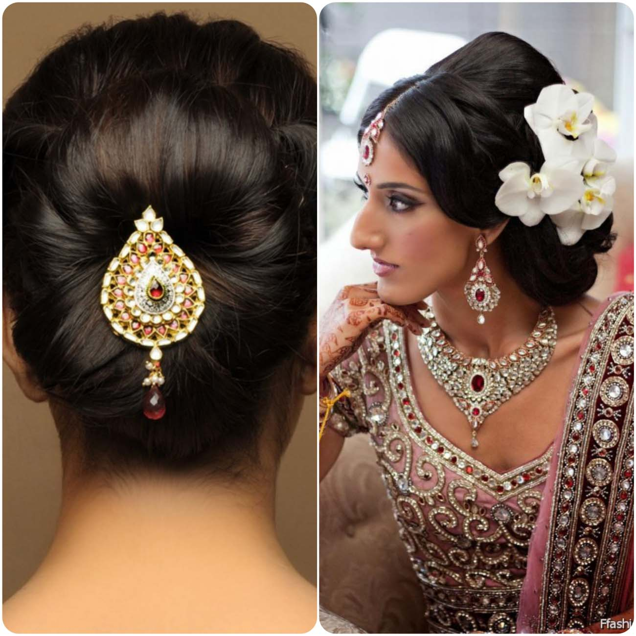 Indian Wedding Hairstyle Trends 2016 2017 For Bridals 16