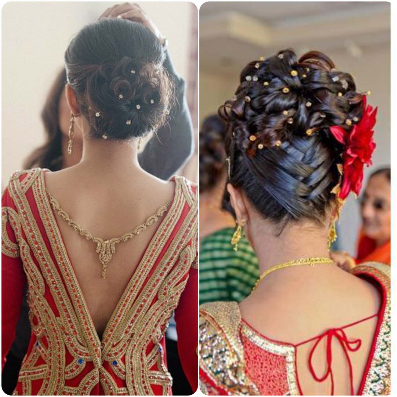 Indian Wedding Hairstyles For Brides 2017-2018