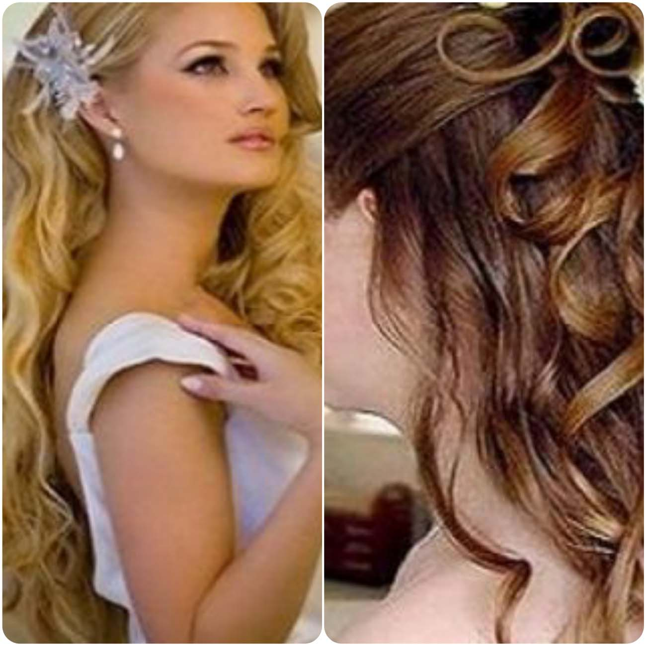 Hair style for party step