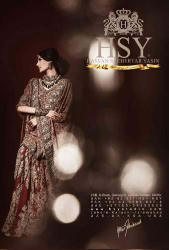 Latest Stunning Bridal Collection By Hassan Shehreyar Yasin 2016..styloplanet (10)