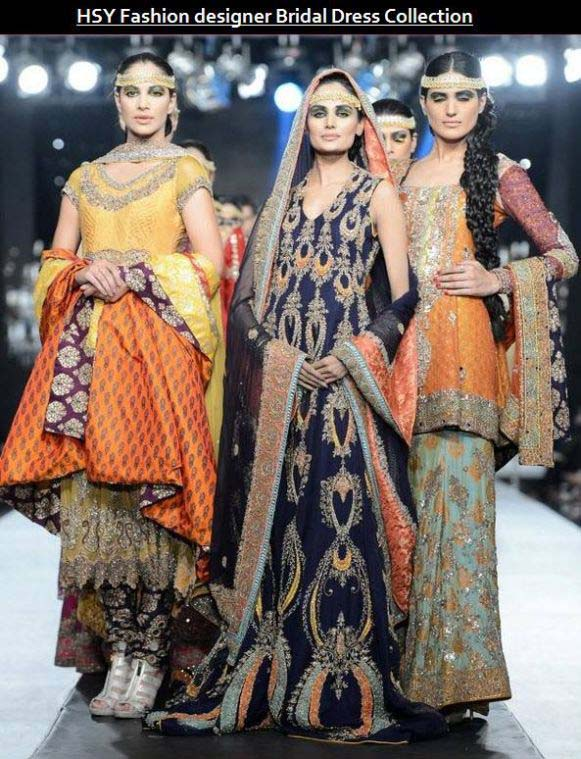 Latest Stunning Bridal Collection By Hassan Shehreyar yasin 2016
