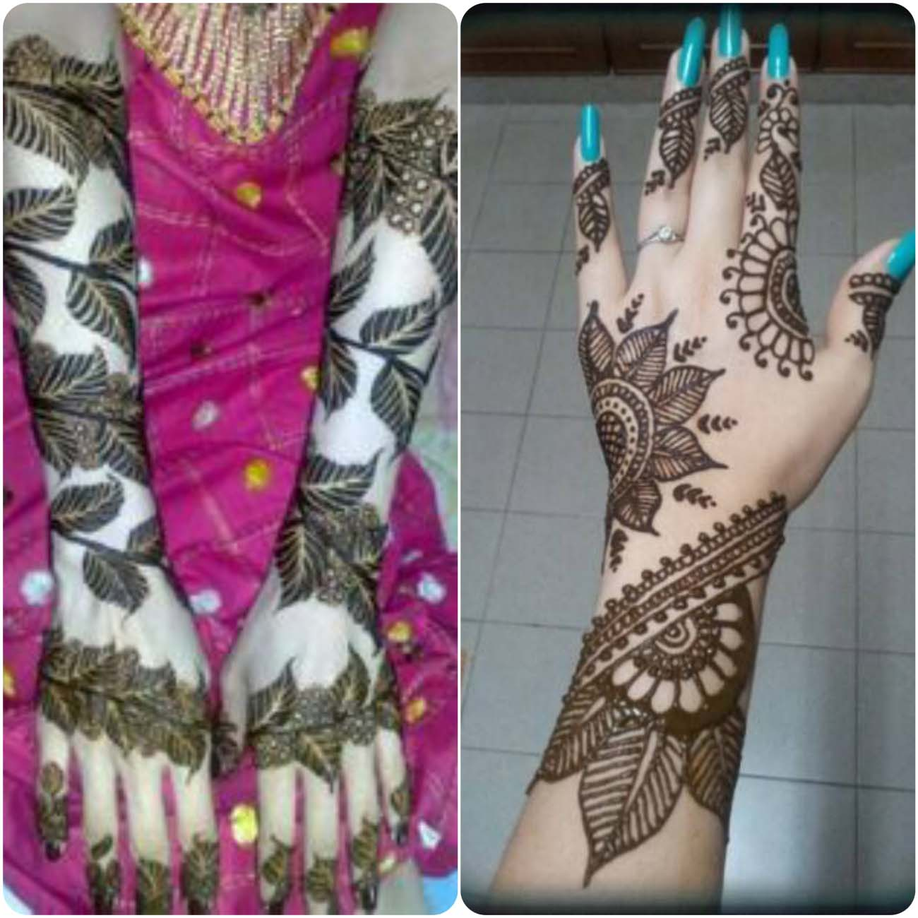 Latest Turkish Mehndi Designs Collection 2016-2107...styloplanet (10)