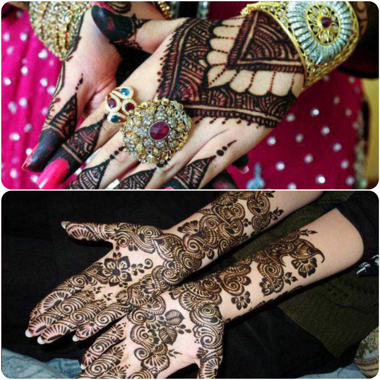 Latest Turkish Mehndi Designs Collection 2016-2107...styloplanet (21)