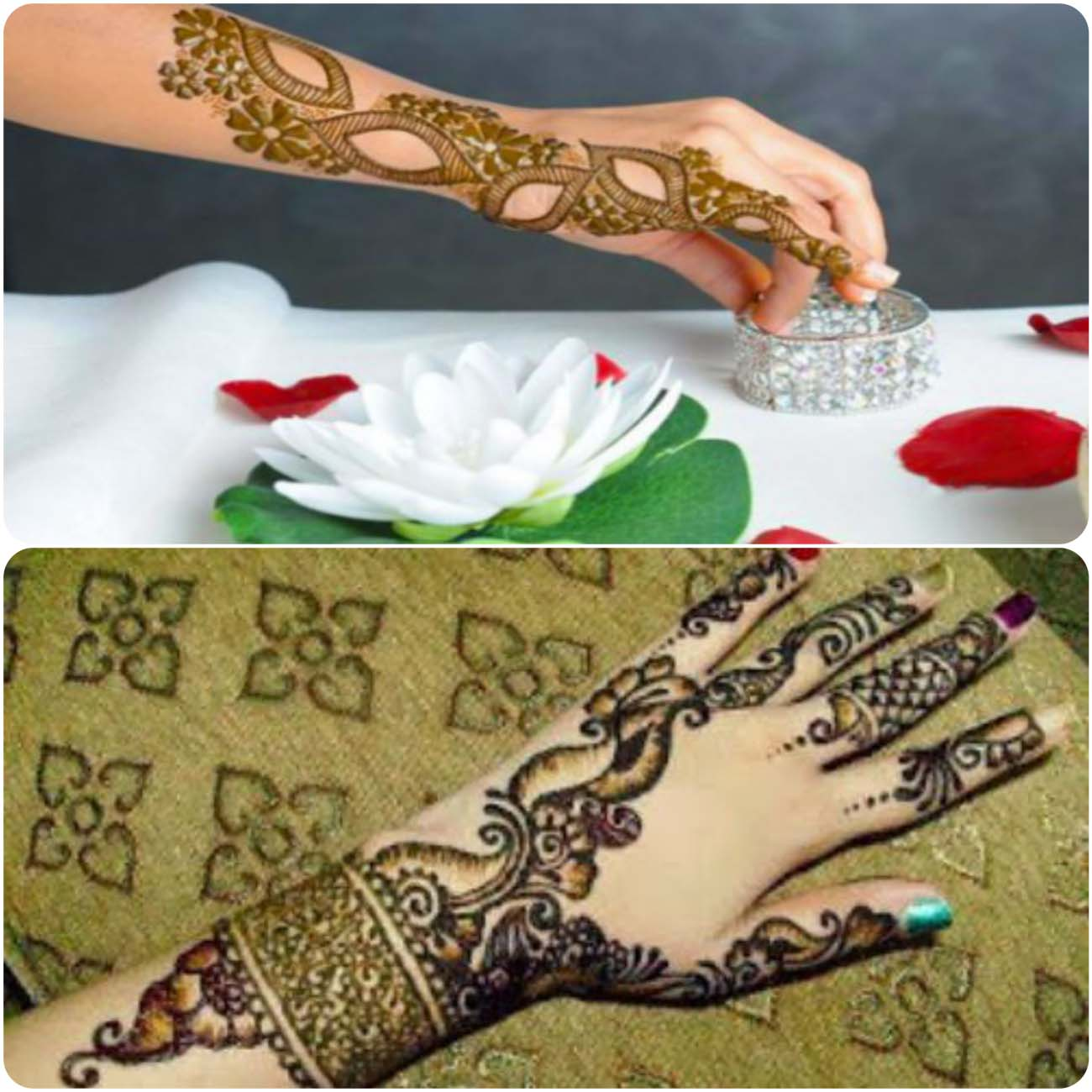 Latest Turkish mehndi art