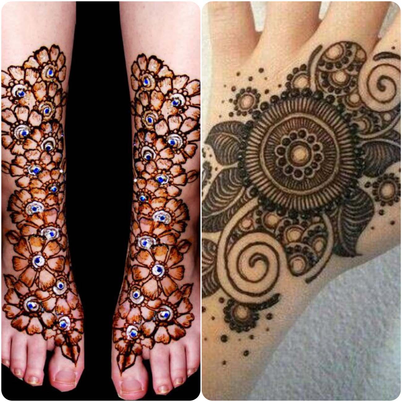 Unique Mehndi Designs 2016 : Mehndi tikya design styles cuonun