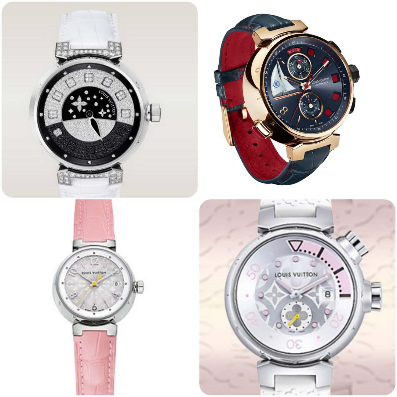 Louis Vuitton Spin women watches 2016