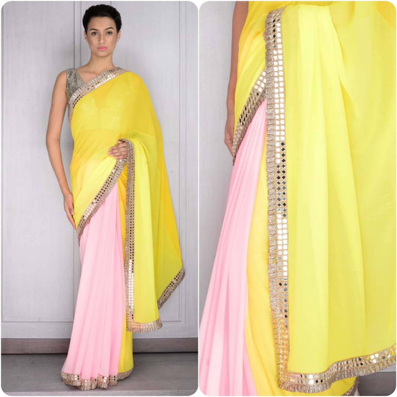 Latest Sarees Collection By Manish Malhotra Stylo Planet