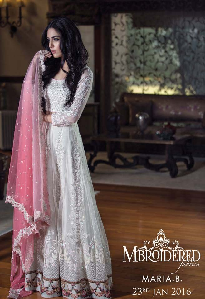Maria. b Latest Embroidered Luxury Dresses Collection 2016-2017...styloplanet (1)