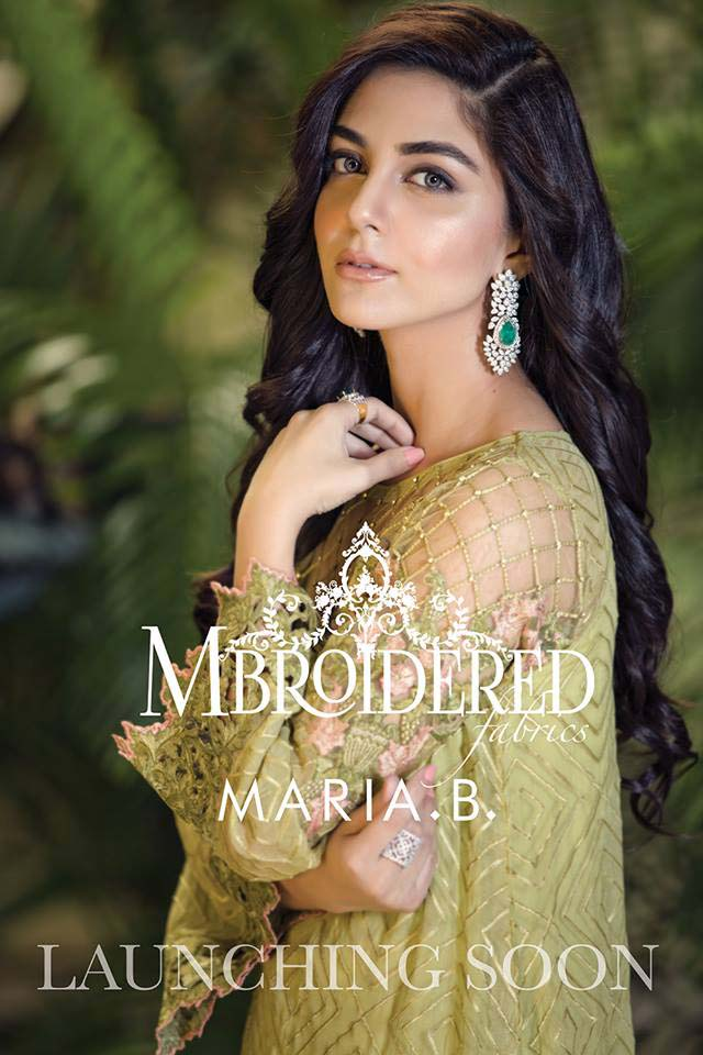 Maria. b Latest Embroidered Luxury Dresses Collection 2016-2017...styloplanet (10)