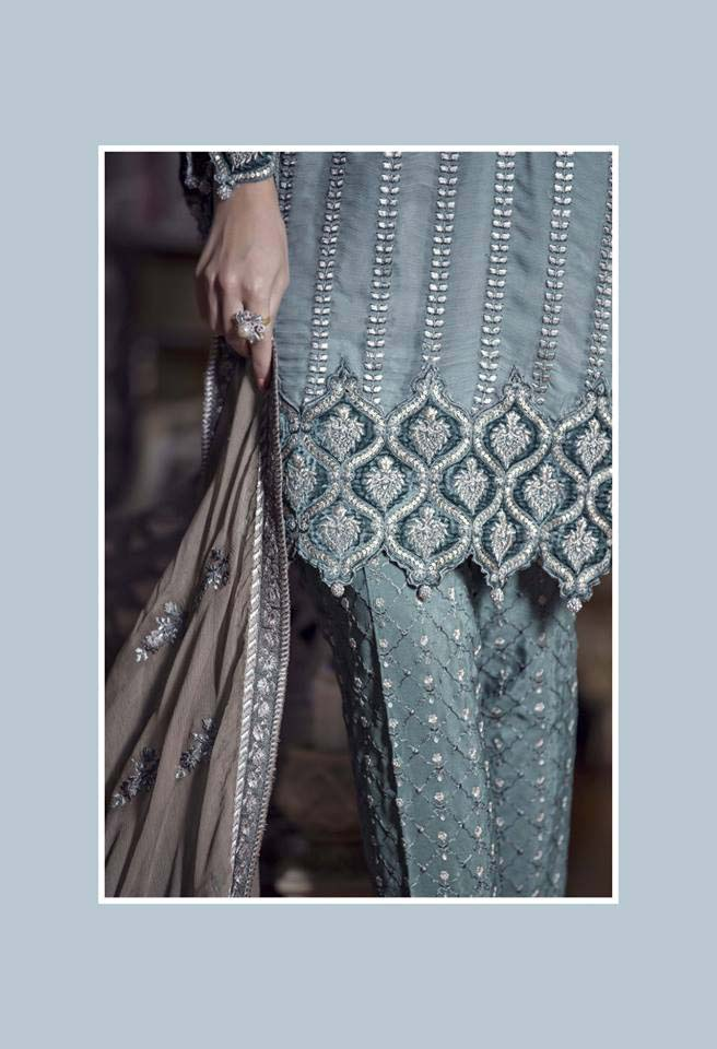 Maria. b Latest Embroidered Luxury Dresses Collection 2016-2017...styloplanet (11)