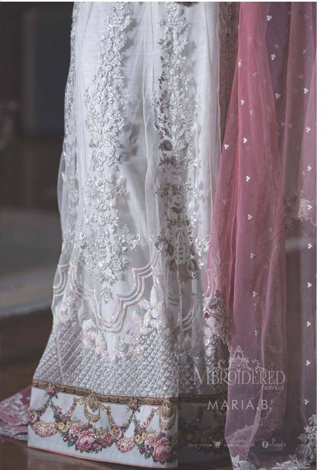 Maria. b Latest Embroidered Luxury Dresses Collection 2016-2017...styloplanet (12)