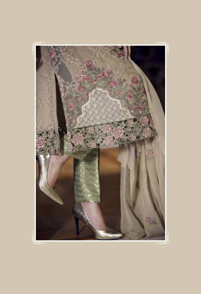 Maria. b Latest Embroidered Luxury Dresses Collection 2016-2017...styloplanet (13)