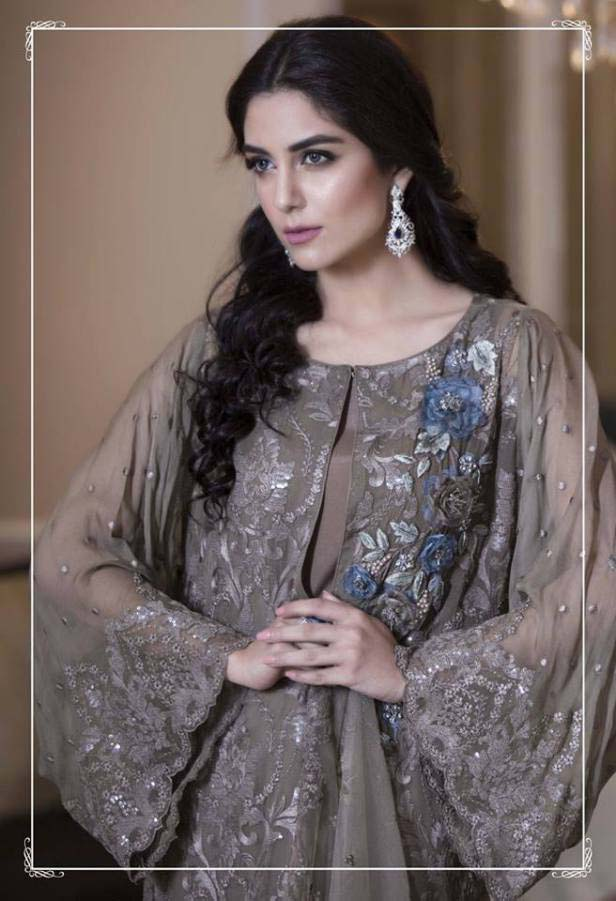 Maria. b Latest Embroidered Luxury Dresses Collection 2016-2017...styloplanet (14)