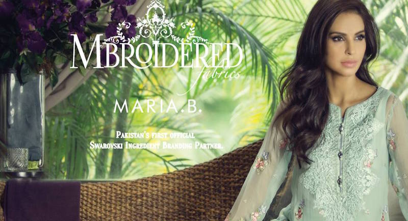 Maria. b Latest Embroidered Luxury Dresses Collection 2016-2017