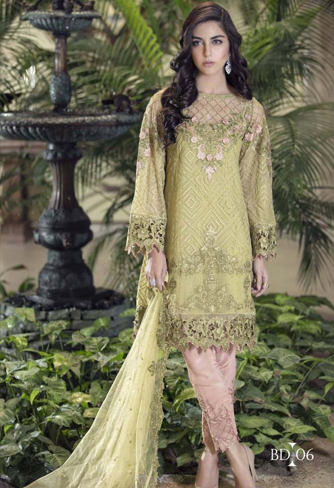 maria.b formal embroidered collection