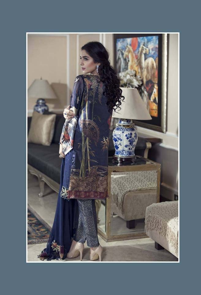 Maria. b Latest Embroidered Luxury Dresses Collection 2016-2017...styloplanet (8)