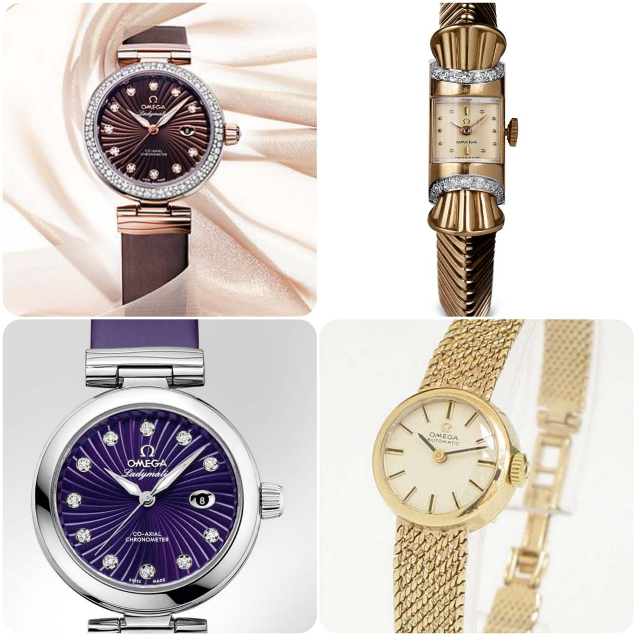 Omega Ladymatic Watch...styloplanet.com