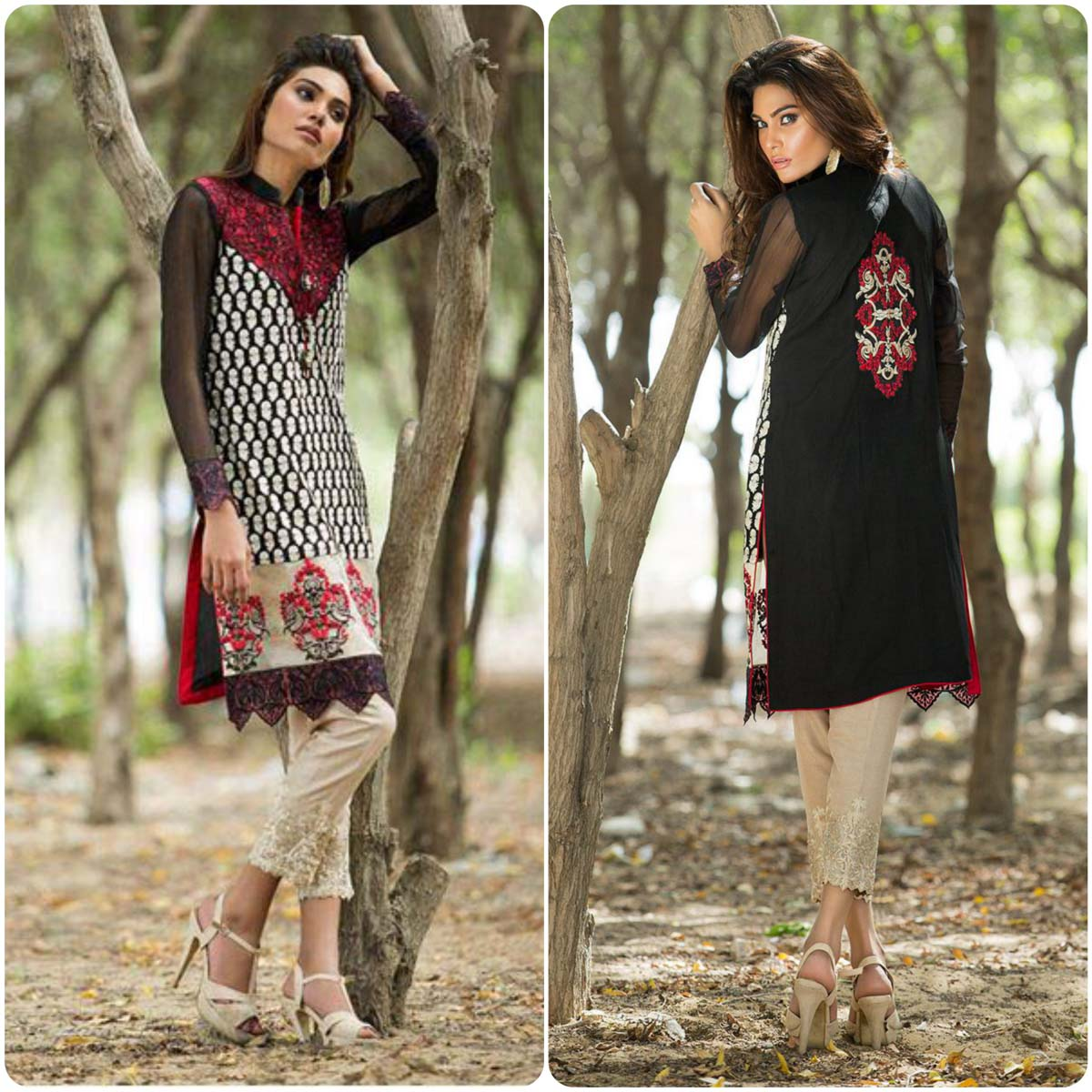 Zainab Chottani Luxury And Casual Pret Collection 2016-2017