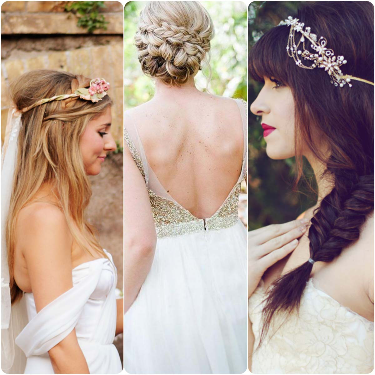 Superb The Most Beautiful Bridal Braids Hairstyles This Season What Short Hairstyles Gunalazisus